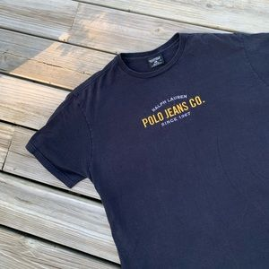 Vtg Ralph Lauren Polo Jeans T-Shirt